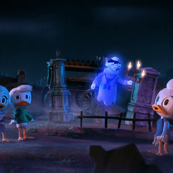 DuckTales Haunted Mansion Crossover