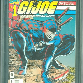 GI Joe Special With McFarlane Art CGC 9.6 ComicConnect Auction Ending