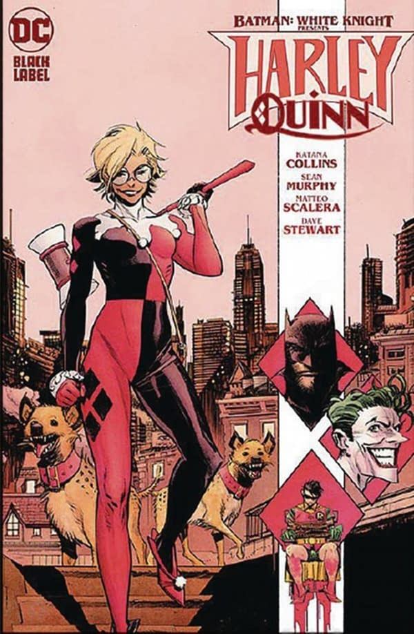Harley Quinn Gets Her Own Batman: White Knight Series in October.