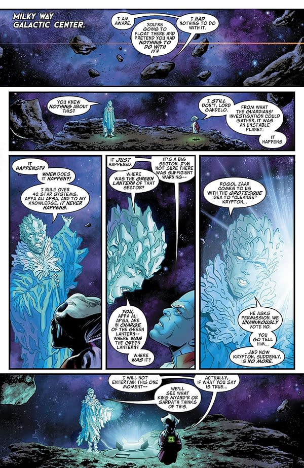 Man of Steel #2 art by Evan Shaner and Alex Sinclair