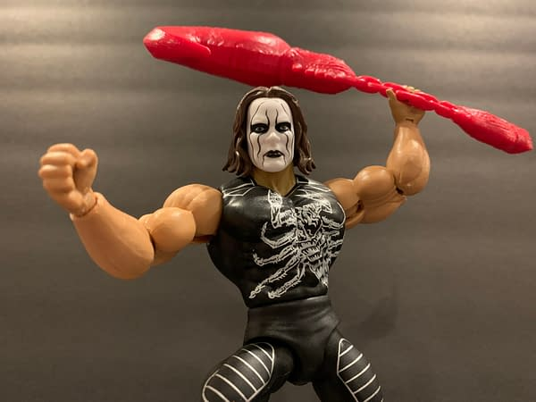 Masters of the WWE Universe: Let's Look at the Sting Figure