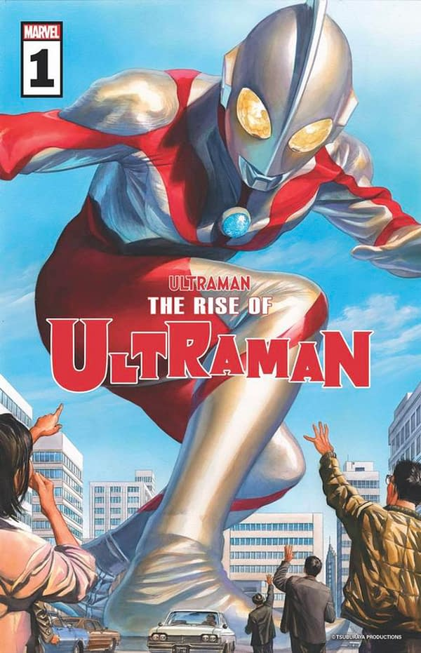 The Rise of Ultraman #1 cover. Credit: Marvel.