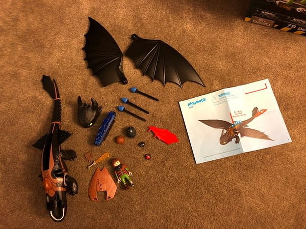Playmobil Dragons Hiccup and Toothless Playset 2