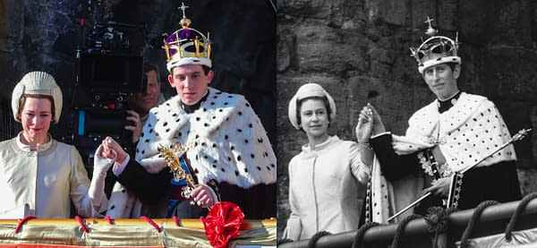 'The Crown': Recreating Prince Charles' 1969 Investiture Ceremony in S3