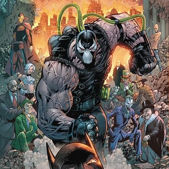 City Of Bane Begins in July From Tom King and Tony S Daniel, Gets a Variant Card Stock Cover...
