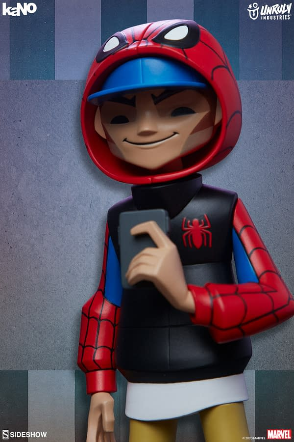Marvel Designer Collectible Figures from Unruly Industries Spider-Man