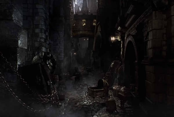 A Bloodborne Player Discovers the Opening Cinematic Location