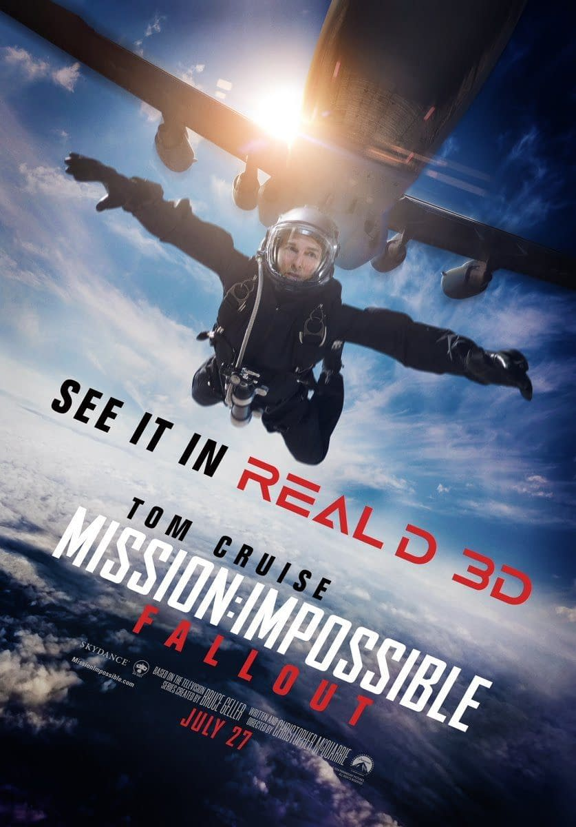 New Poster and TV Spot for Mission: Impossible – Fallout