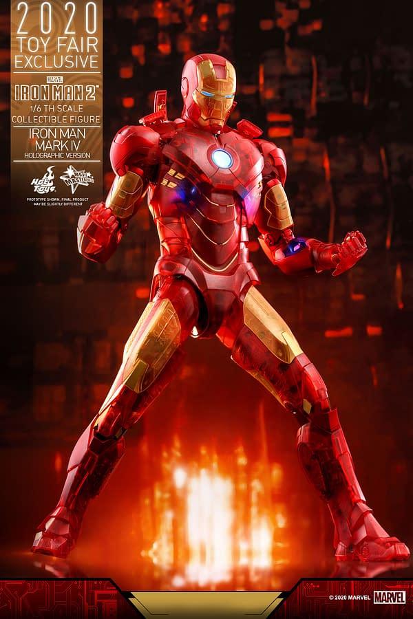 Hot Toys SDCC 2020 - Iron Man 2 Whiplash and Mark IV Armor