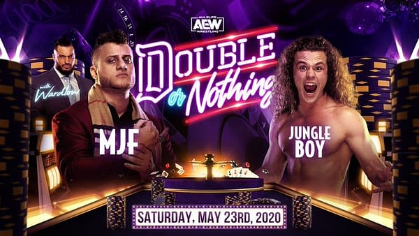 MJF takes on Jungle Boy at AEW Double or Nothing
