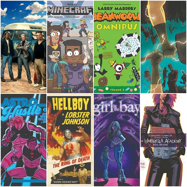 Full Dark Horse May 2019 Solicits – Stranger Things Prequel, Amanda Ripley's Fate and… Minecraft