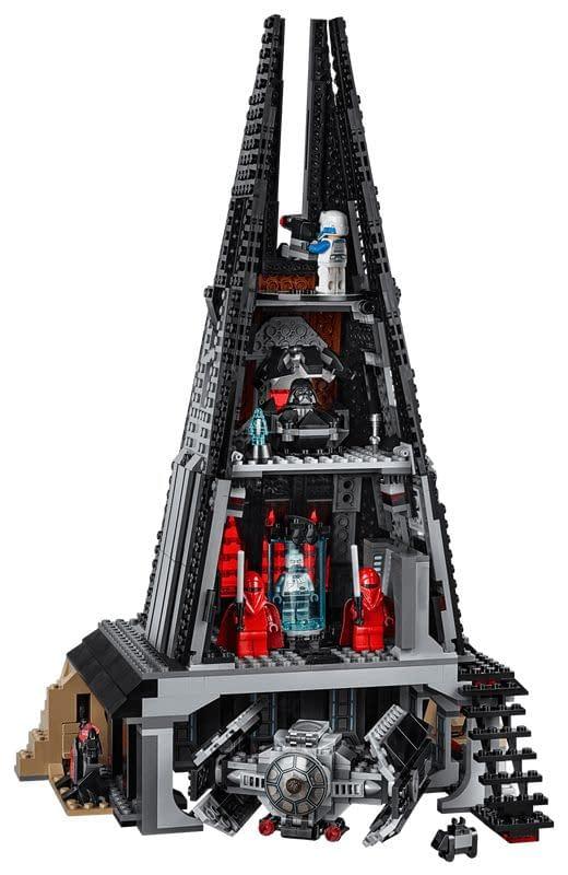LEGO Star Wars Darth Vader's Castle 2