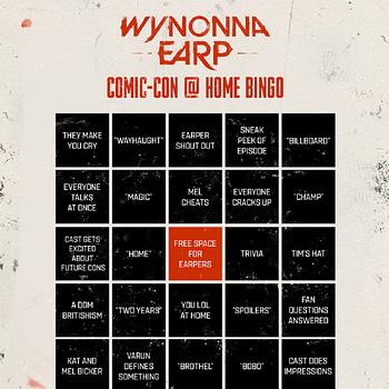 Wynonna Earp Offers SDCC Panel Bingo Cards #WayHaught Shortys 101