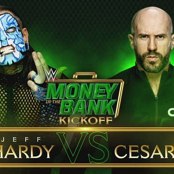 Jeff Hardy takes on Cesaro at WWE Money in the Bank [WWE/Twitter]