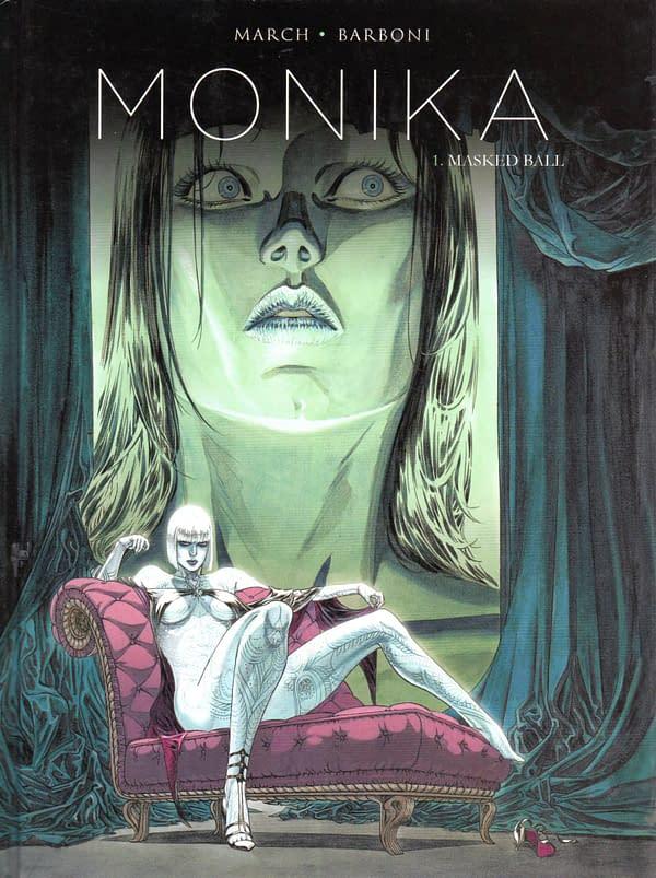 Monika volume one cover via AtomicJunkshop