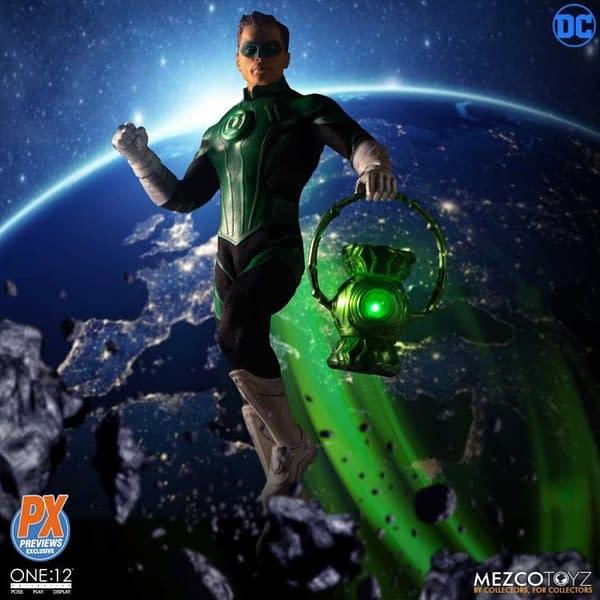 One 12 Collective Previews Exclusive Green Lantern Hal Jordan 1