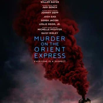 Kenneth Branagh orient express poster