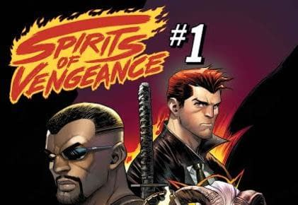 Cover to Spirits of Vengeance #1 by Mark Texeira