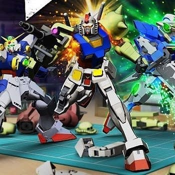 New Gundam Breaker pose art