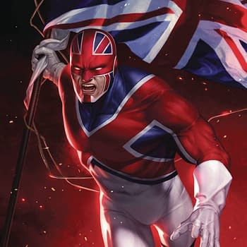 Something With Captain Britain Coming From Marvel #SDCC