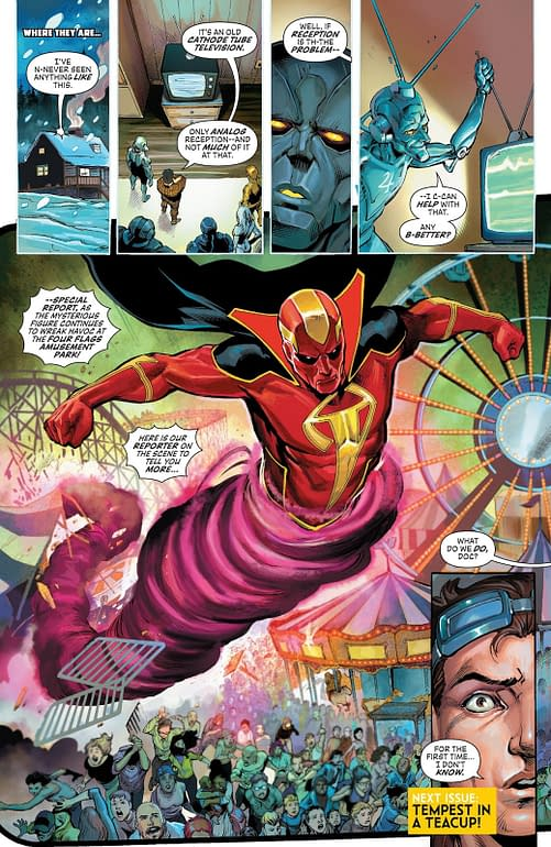 Metal Men and Red Tornado by Yildiray Cinar