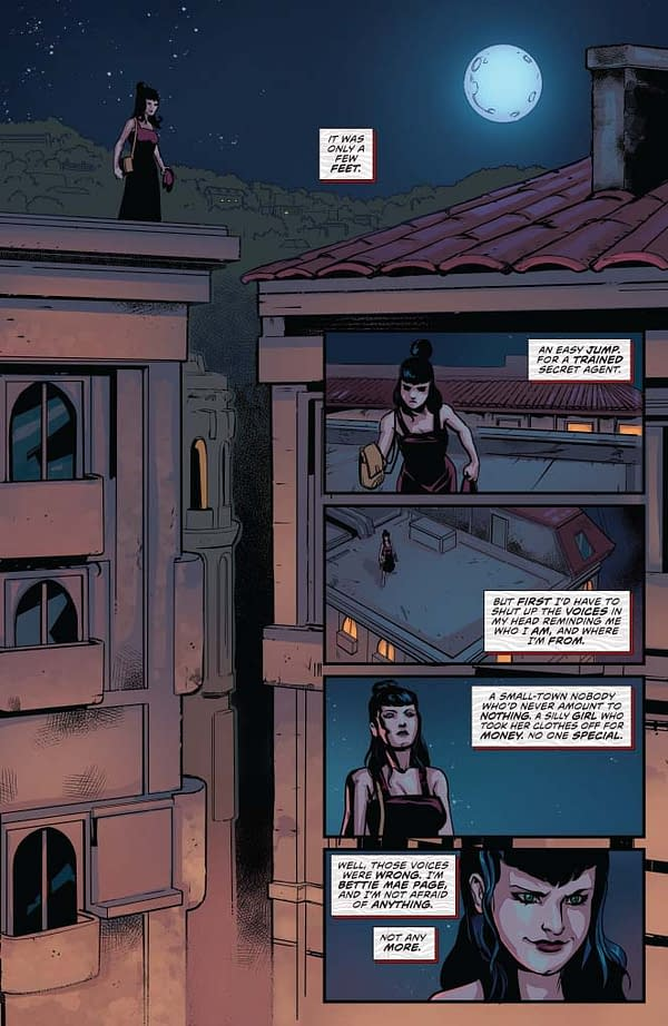 Writer's Commentary: David Avallone Talks Bettie Page #7