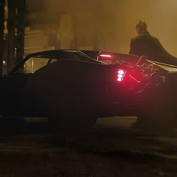A new image of the Batmobile from The Batman as shared by director Matt Reeves.