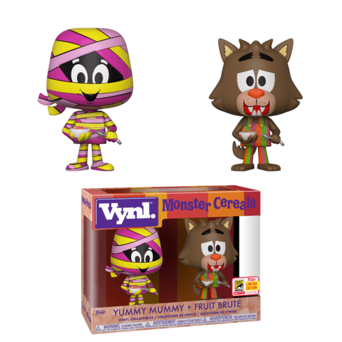 Funko SDCC Vynl Yummy Mummy Fruite Brute two pack