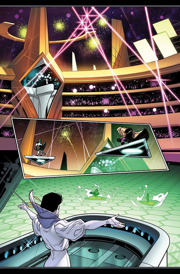 Empyre: Fantastic Four #0 Preview Page from Marvel Comics.