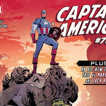 Captain America #700 cover by Chris Samnee and Matthew Wilson