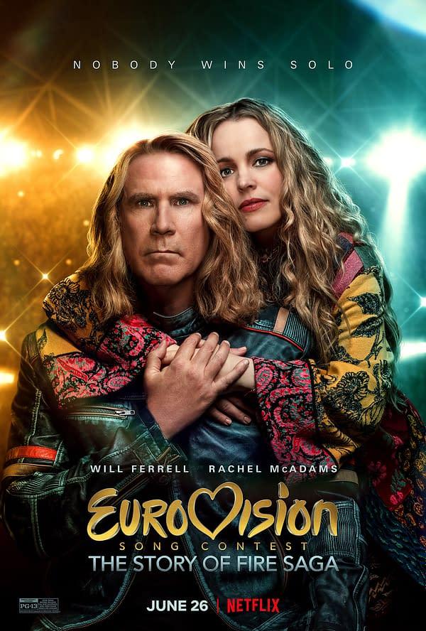 Will Ferrell et Rachael McAdams dans Netflix Comedy Eurovision