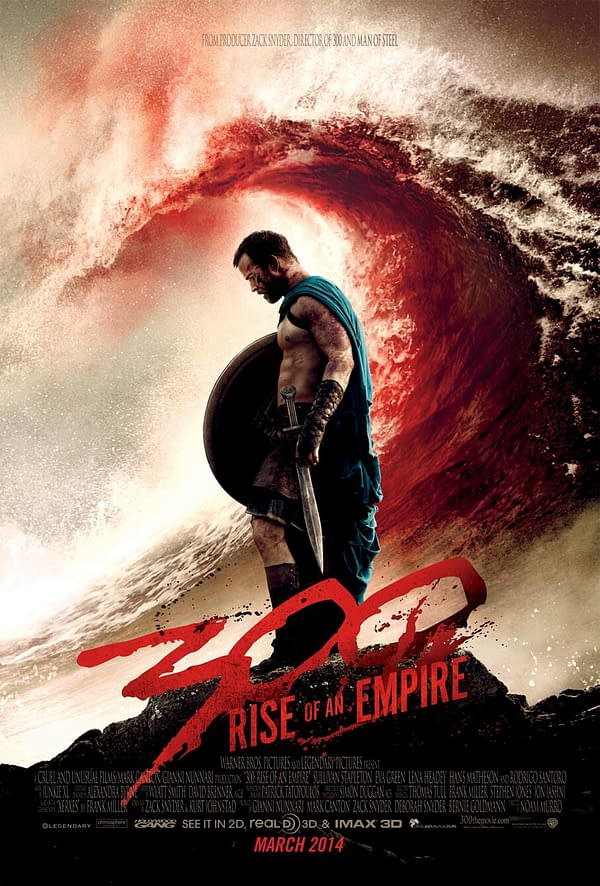 300 rise of an empire second poster