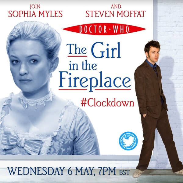 The Girl in the Fireplace is the focus of the next Doctor Who rewatch, courtesy of BBC.