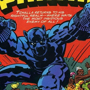 Black Panther #7 (1977) cover by Jack Kirby and Ernest Hart