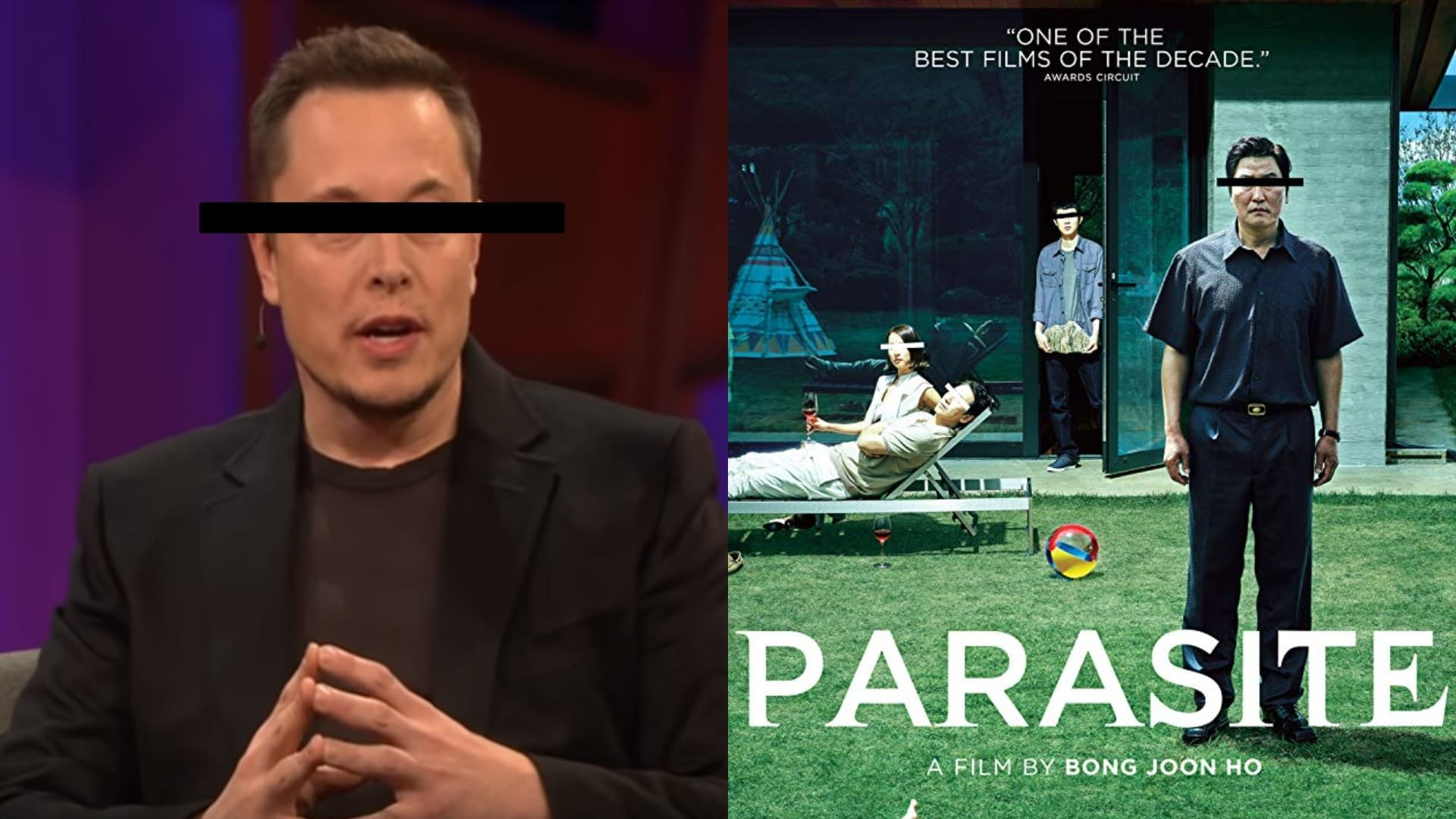 """Elon Musk's Favorite Movie of 2019 Was """"Parasite"""" And The Concept of Irony is Officially Dead"""