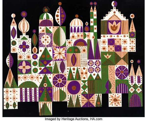 It's a Small World With These Mary Blair Concept Paintings!