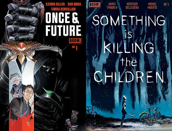 Boom's Filip Sablik Addresses Retailers Over Once & FutureandSomething Is Killing The Children Sell-Outs and Printings