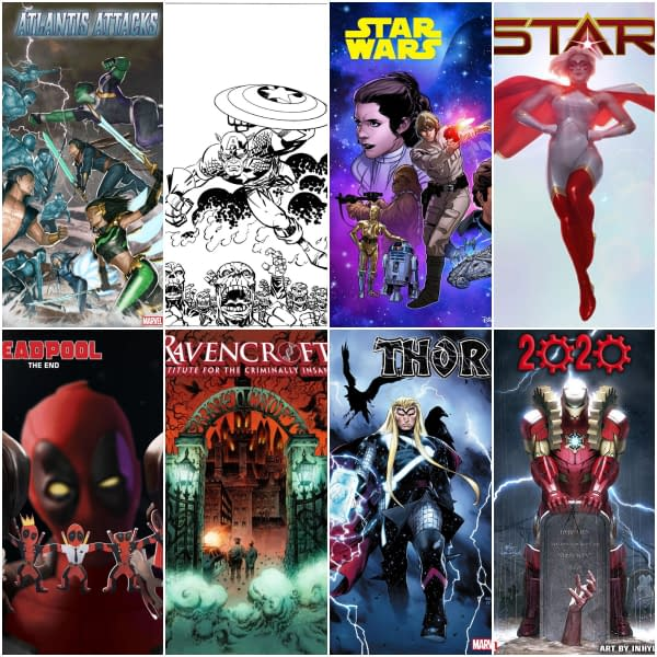Marvel Comics December 2019 Solicitations, From Star to Ravencroft, Frankensteined