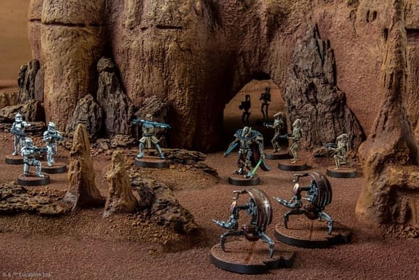 NEW Clone Wars Era Game Announced for 'Star Wars: Legion'