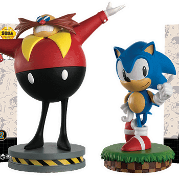Sonic The Hedgehog Figurine Collection From Eaglemoss Goes Retro