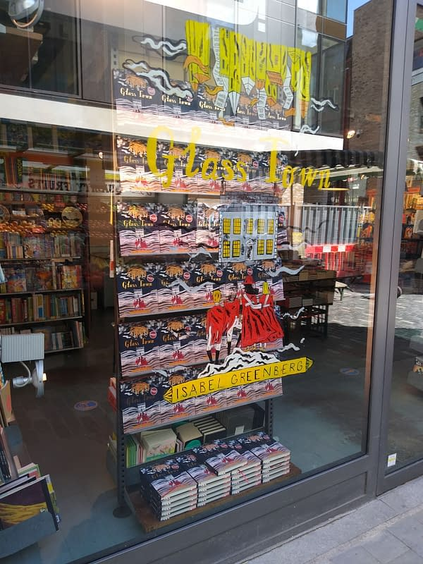 Cycling Into London As Comic Shops (And Everything Else) Open Up