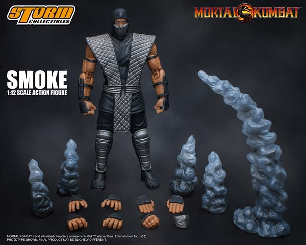 NYCC Storm Collectibles Mortal Kombat Smoke Exclusive 9