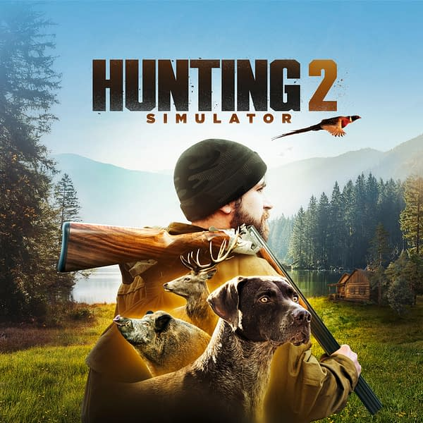 See the options available to you in Hunting Simulator 2, courtesy of NACON.