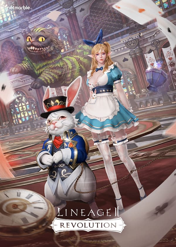 Netmarble Announces the War in Wonderland Event for Lineage II: Revolution