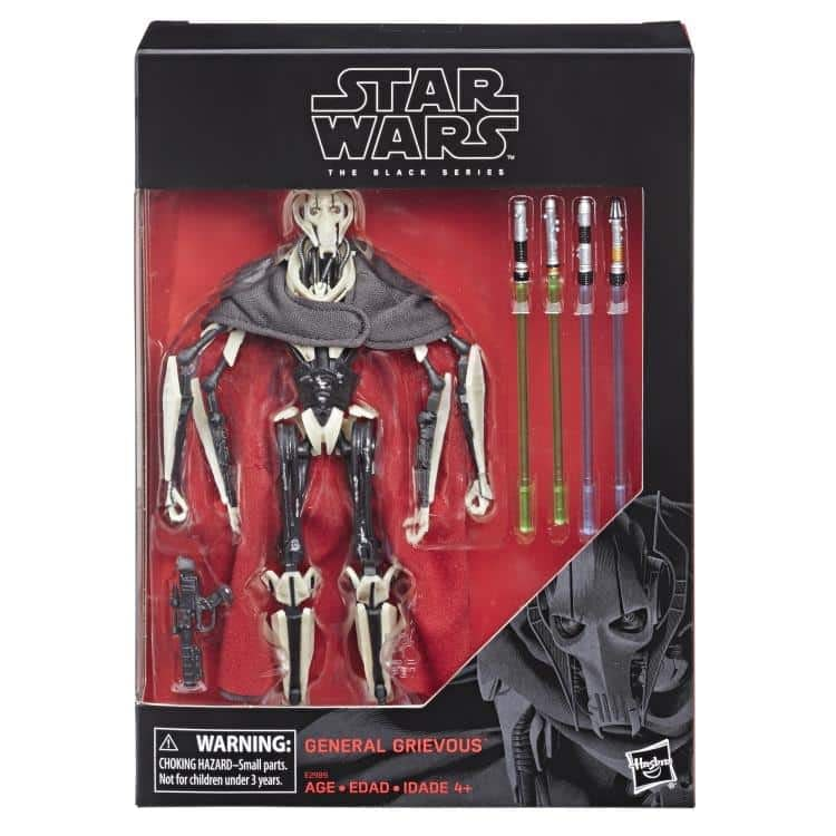 Star Wars Black Series General Grievous Figure 2
