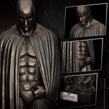 Batman Gets a Memorial Statue from Beast Kingdom