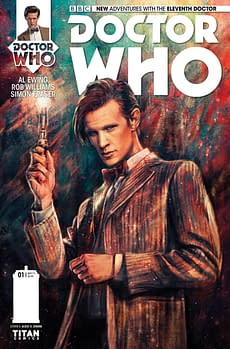 THE ELEVENTH DOCTOR #1 - REGULAR (LINKED) COVER