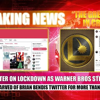Bendis in Crisis Day 2: The Great One's Twitter on Lockdown After Hacking