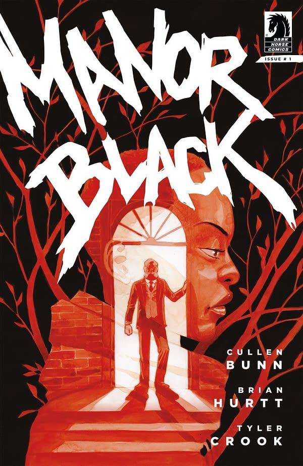 Cullen Bunn, Brian Hurtt, & Tyler Crook Launch Black Manor at Dark Horse in July
