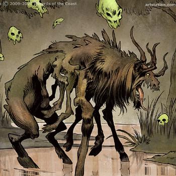 Nethroi Apex of Death art mtg Tomasz Jedruszek